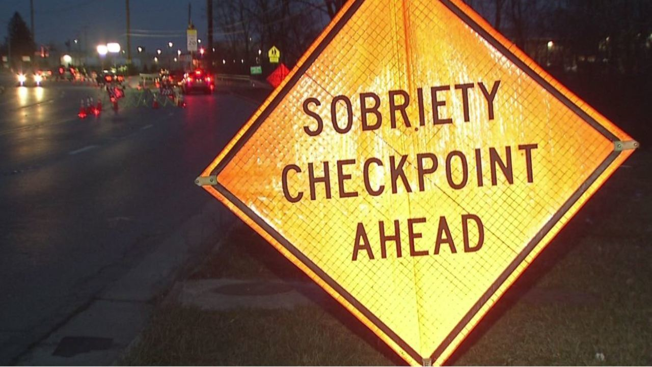 DUI checkpoint yields 2 arrests, multiple citations