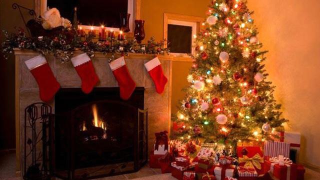 The George Washington University Blue Christmas Holiday Stocking Ornament