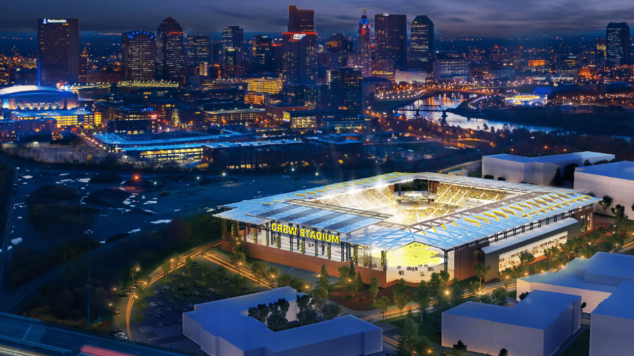 Officials announce location of Columbus Crew SC's new stadium