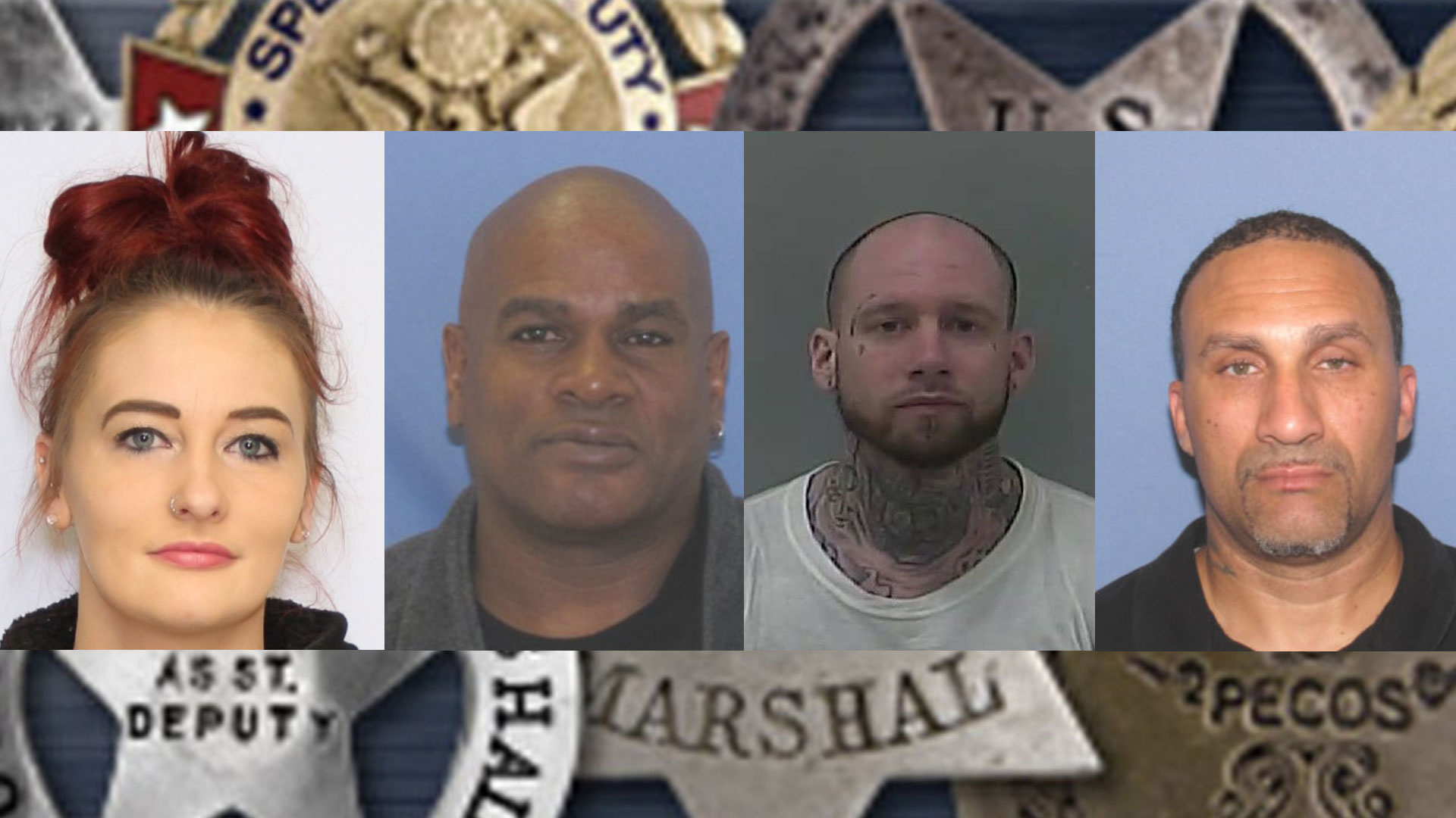 MUGSHOTS: US Marshals announce this week's most-wanted fugitives in