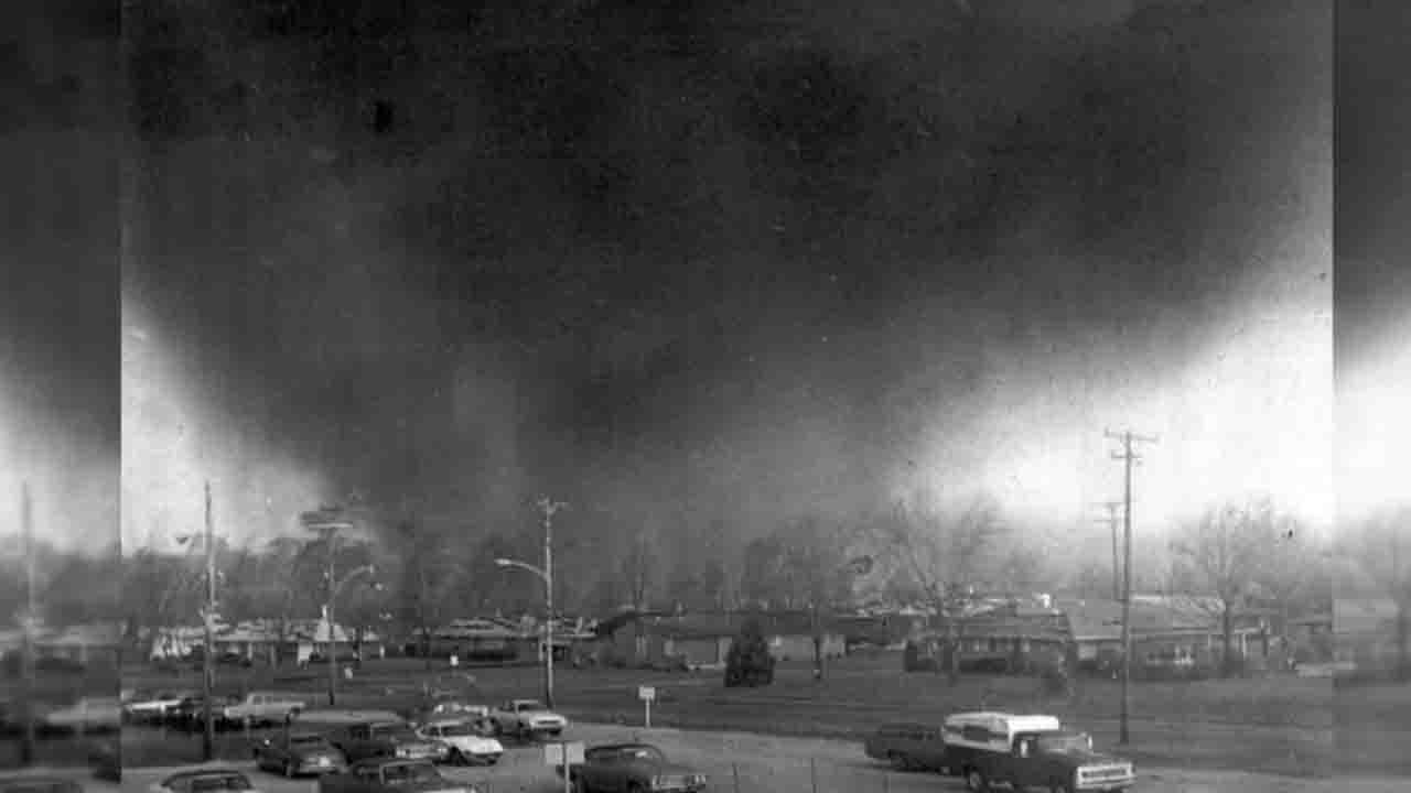 45th anniversary of April 1974 Super Outbreak that spawned Xenia/London tornadoes
