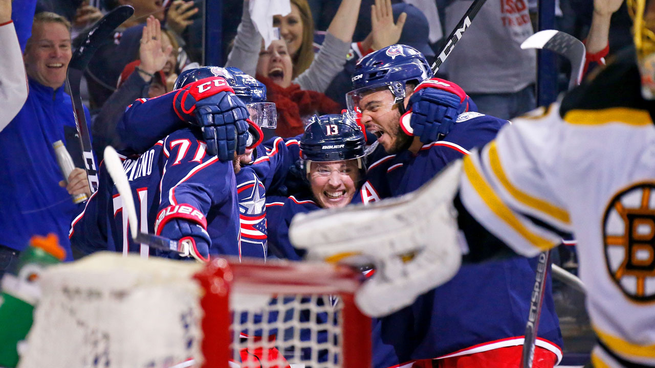 Blue Jackets defeat Bruins 2-1 in Game 3, now lead series 2-1