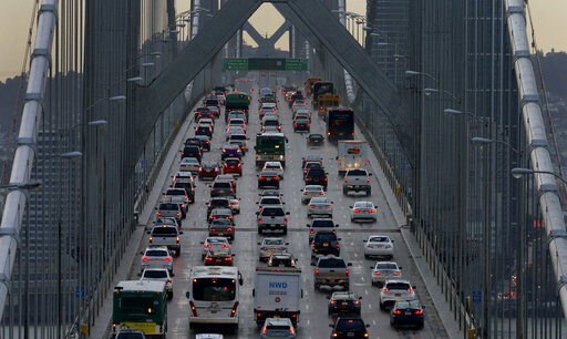 San Francisco-Oakland Bay Bridge Traffic