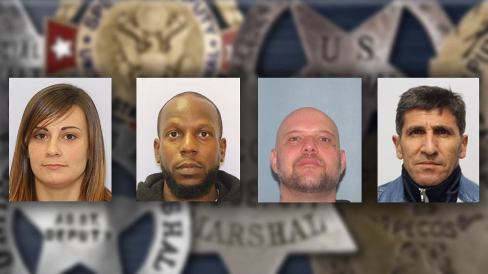 MUGSHOTS: The U S  Marshals' top 4 most-wanted fugitives in