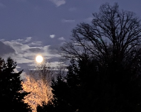 Last full moon of the decade at 12:12 a.m. on Dec. 12 (12/12)
