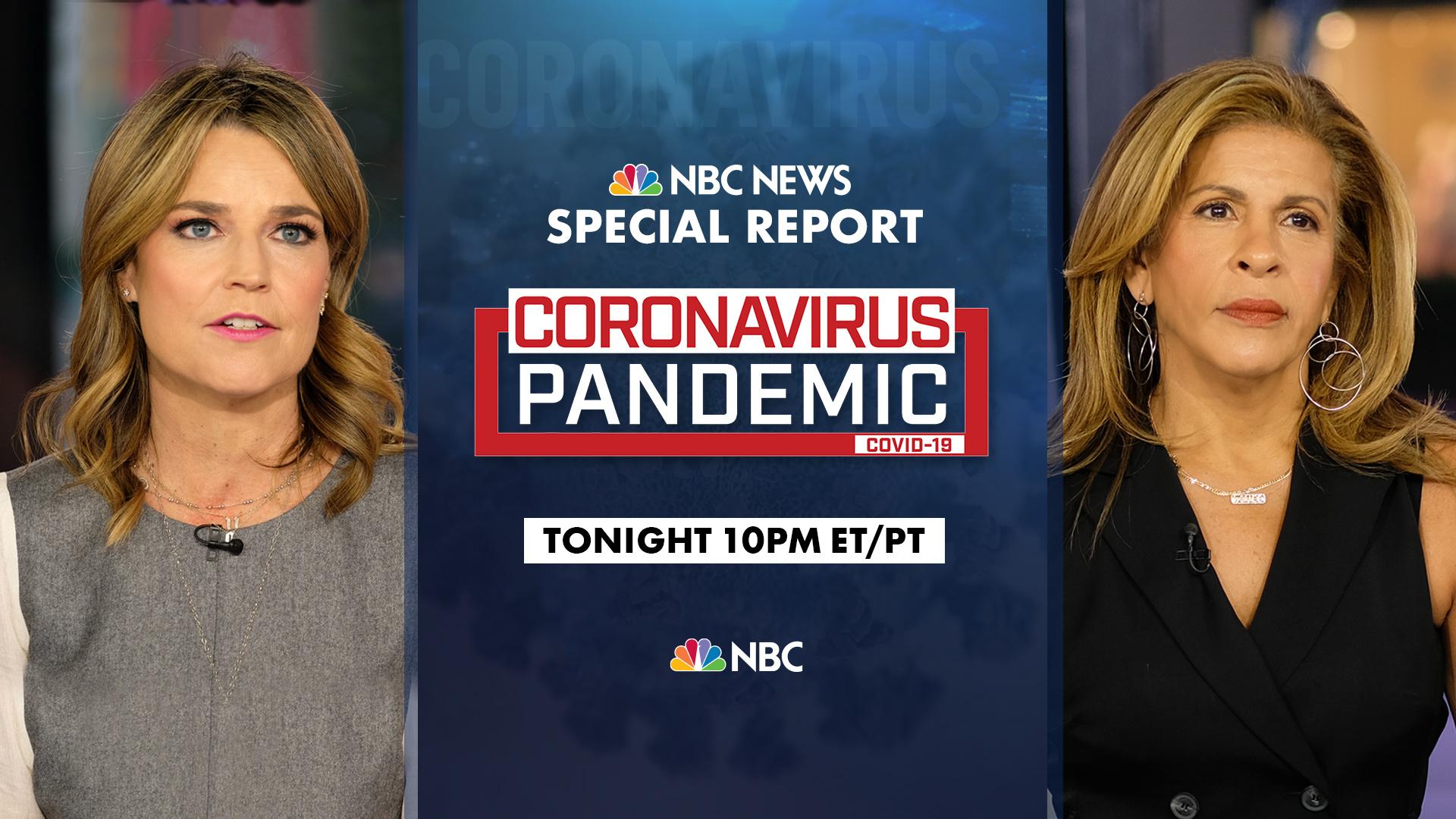 NBC News live special report ...