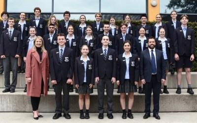 Secondary Student Leadership Team 2021