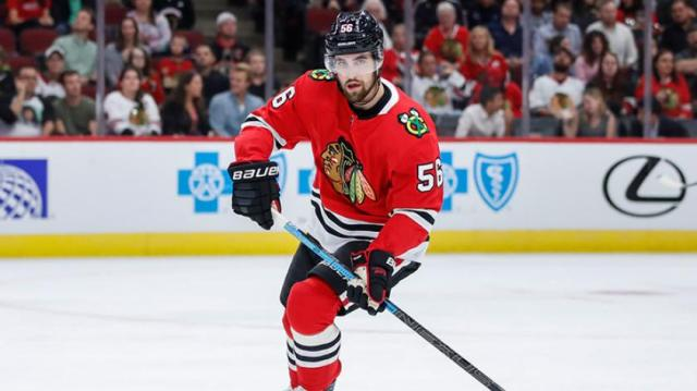 Is Erik Gustafsson falling out of favor with Blackhawks? | RSN