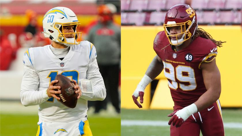 Washington to open 2021 NFL season with home matchup vs. Chargers | RSN