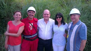 Members of the ALBA and Petro Caribe officials