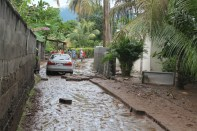 Damage cause by flash Flood in the Buccament Bay Community on 24th and 25th December 2013.c