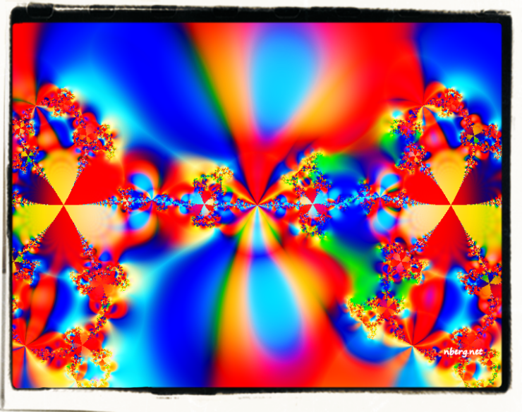Radioactive psychedelic fractal