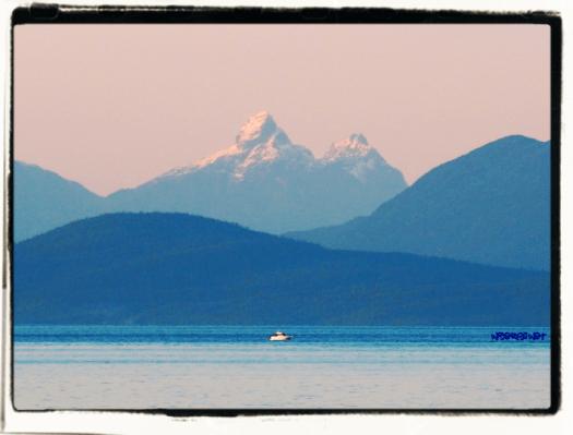Georgia Strait Views Mount Churchill