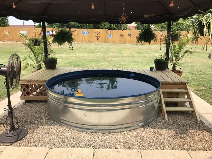 Stock Tank Pool Beat The Heat This Summer New
