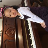 Emma Xu Piano - 8 years and under Received marks of 87 & two 89's