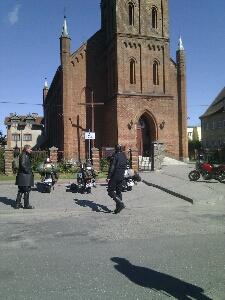 Polnische Dorfkirche