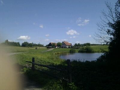 Zufahrt zum Haus meiner Oma