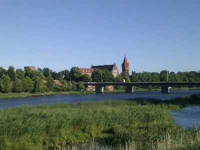 Marienburg verbunden durch Moderne