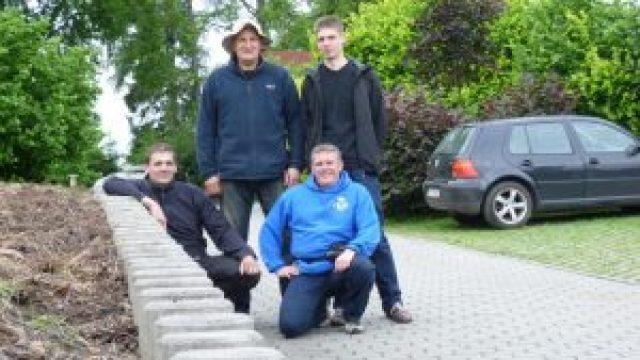 Ein Gruppenfoto stärkt das Gemeinschaftsgefühl