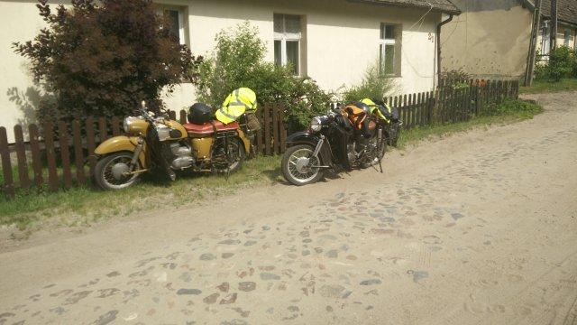 Normans & Steffens MZ ES  am Straßenrand