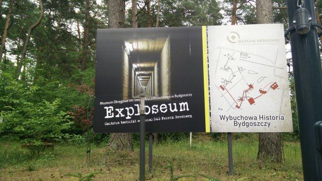 Exploseum Werbung