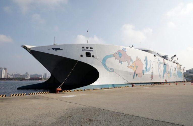 台南-澎湖搭乘哪種交通工具?麗娜輪台南-澎湖正式首航安平直航澎湖馬公共創新藍海商機
