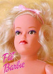 Wat als Barbie dik was?