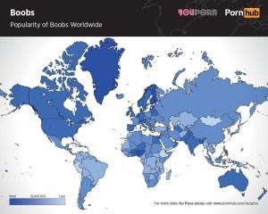 pornhub-boobs-searches-worldwide