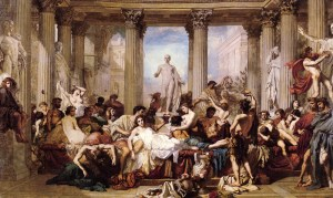 The Romans of the Decadence Thomas Couture (1815-1879)