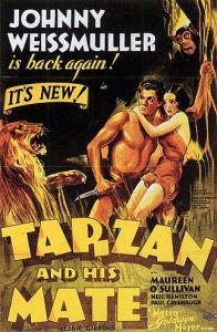De naaktscene uit Tarzan die in 1934 echt niet kon (video)