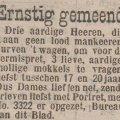 Els, Birgit en Evelien – voor NBRplaza's Erotica Fest #23: Een oude advertentie