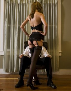Try this role playing game: The customer and the high class escort