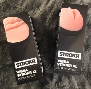 STROKR Vibra Strokr XL Pussy Rider en Mastr Strokr XL Fluffy Mouth – review