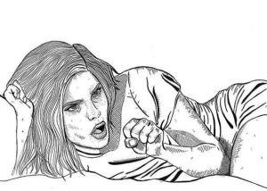 De erotische kunst van Nikki Peck (@bonercandy69)