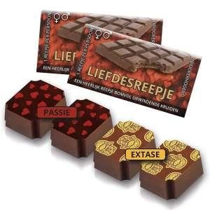 Liefdesbonbon: libido-verhogende chocola – review