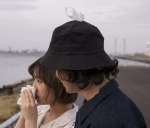 Tenga Pocket hat: always tissues at hand