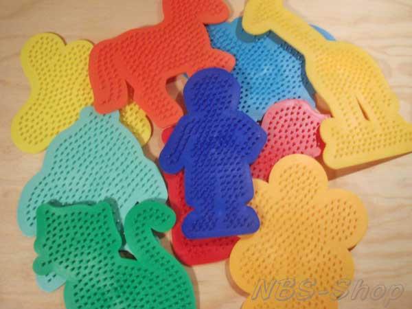 Hama Midi Stiftplatte Sechseck Gross Transparent Amazon De Spielzeug