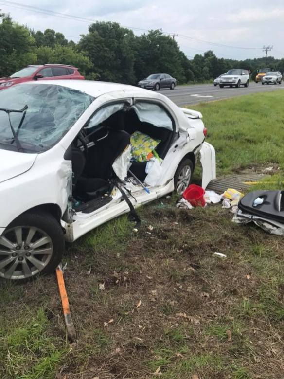 Lee Highway and Broad Run Church Road Collision with Extrication