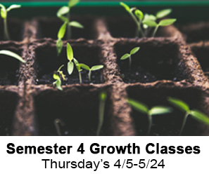 Semester 4 Growth Classes