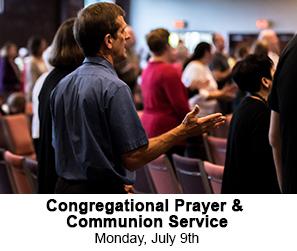 Congregational Prayer & Communion Service
