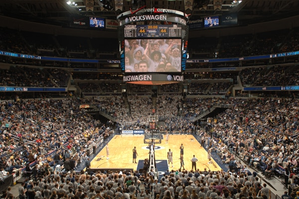 Capital One Arena seats 20,600 fans.