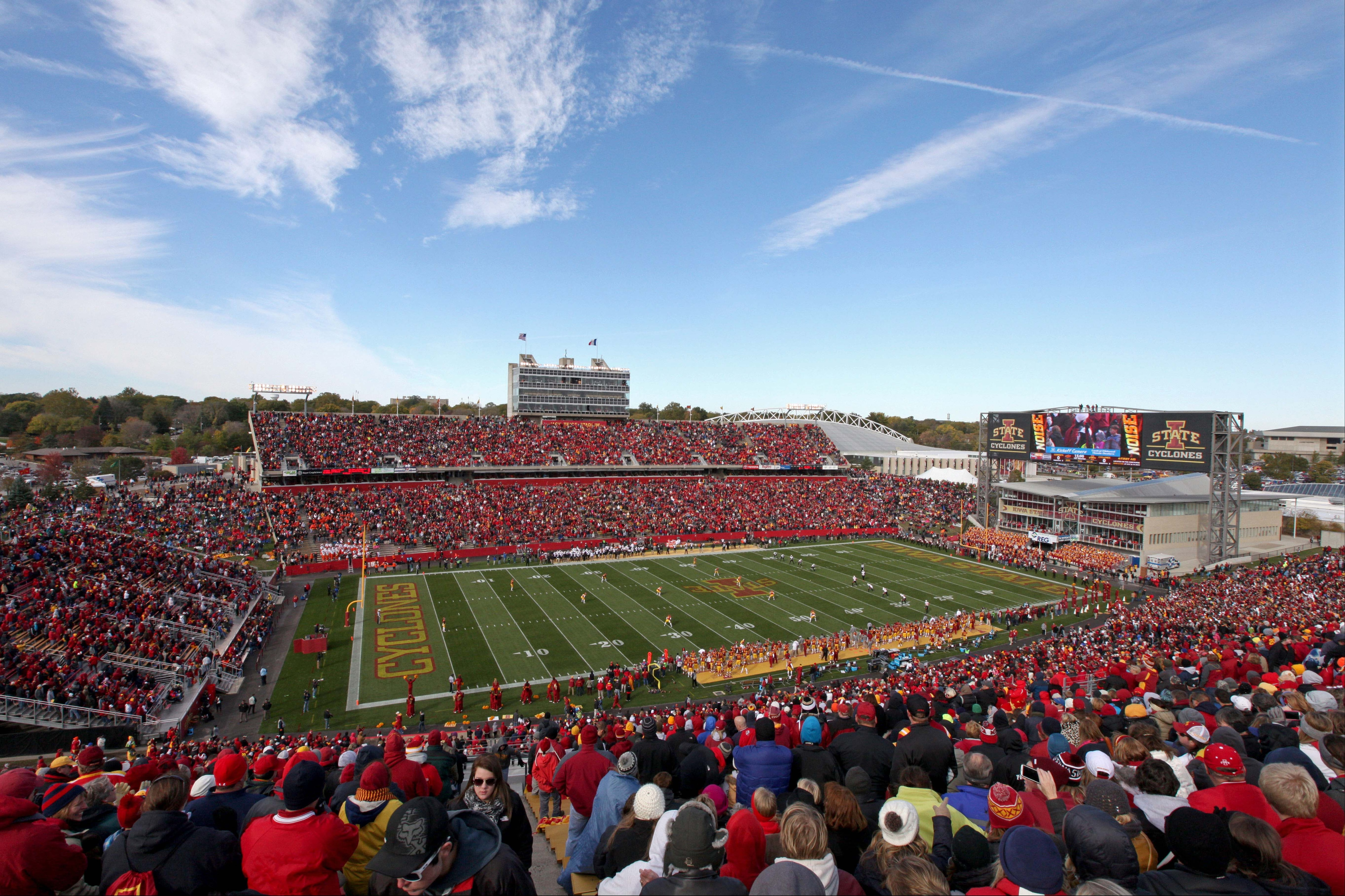 Iowa State To Renovate End Zone Of Jack Trice Stadium To Create A Bowl Shape