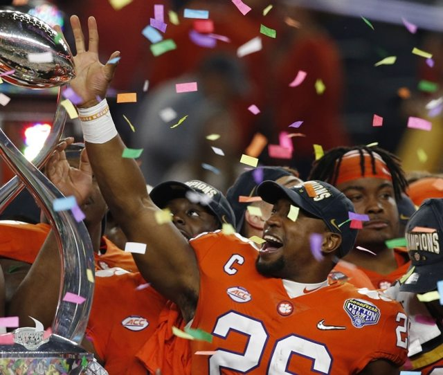 Clemson Heads To The Cfp National Title Game