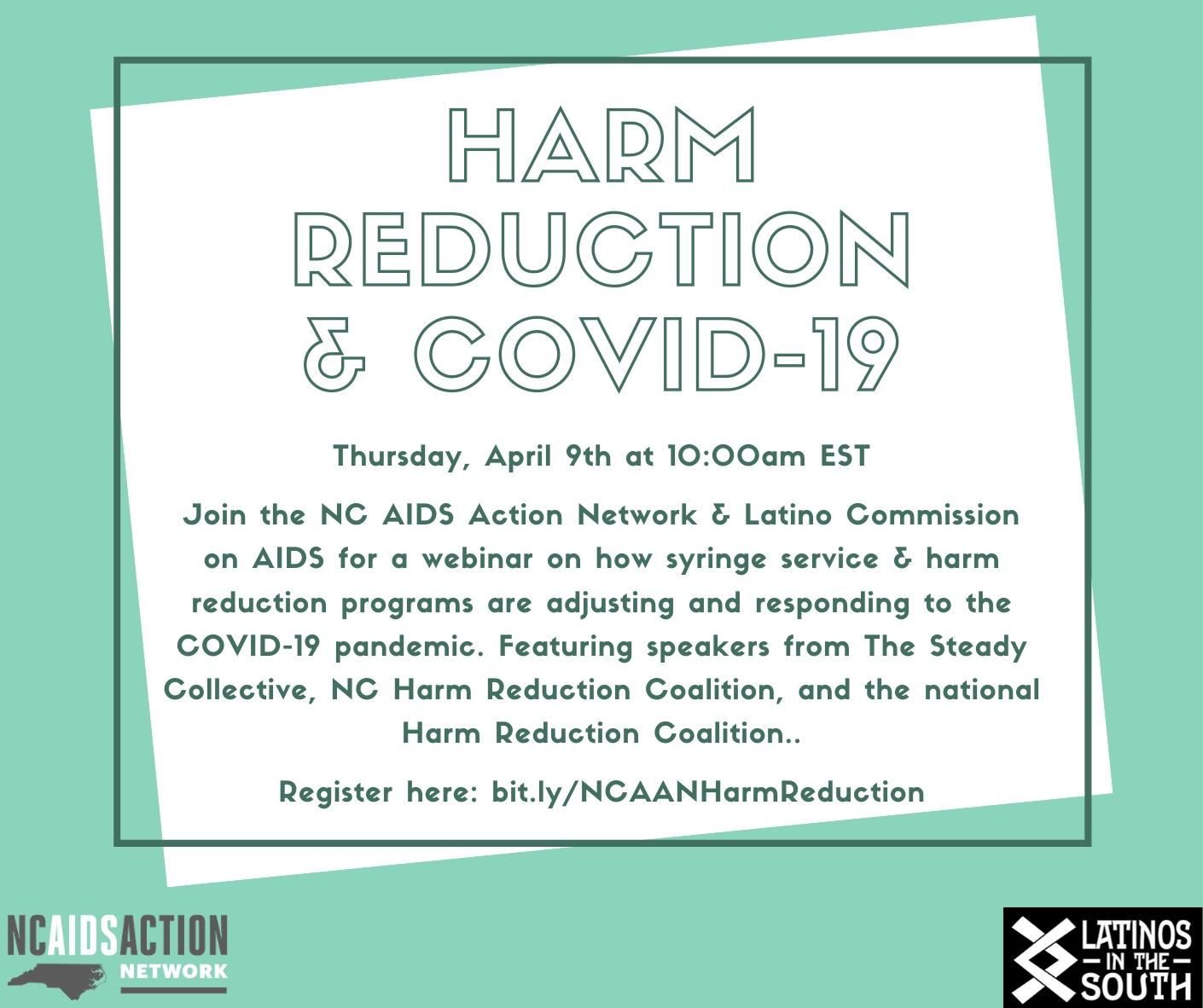 Harm Reduction Amp Covid 19