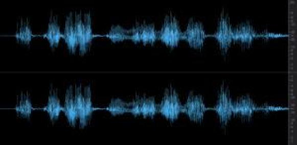 analyzing audio from a voice