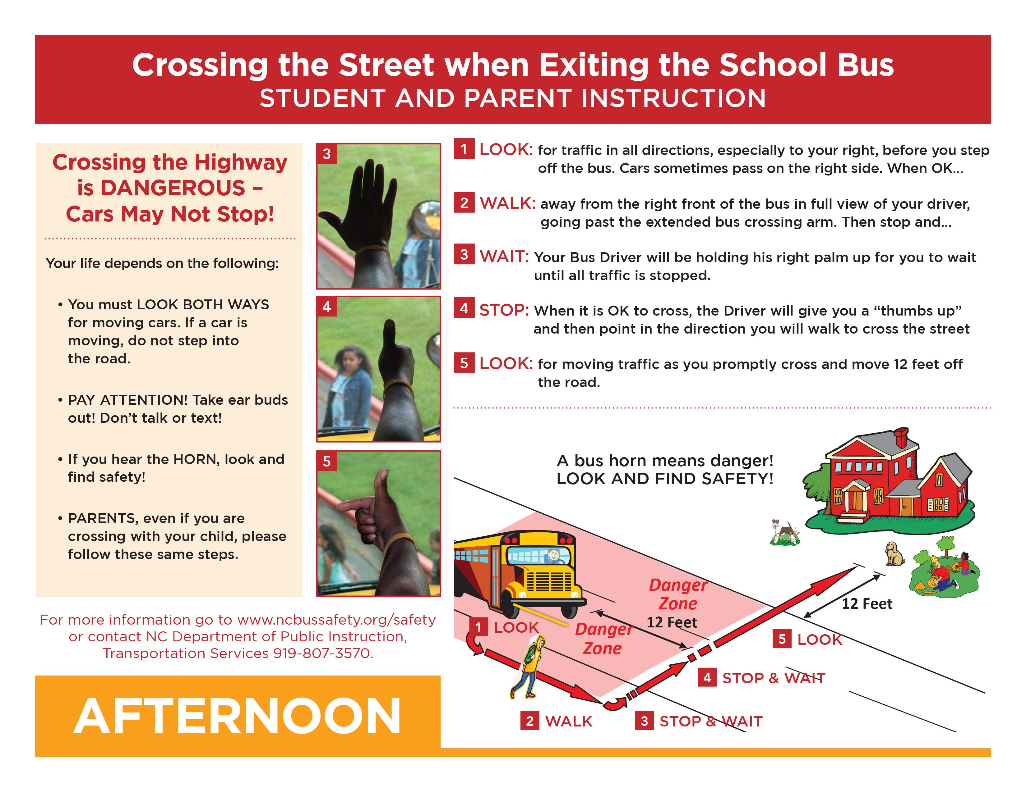 School Bus Crossing Procedures Overview