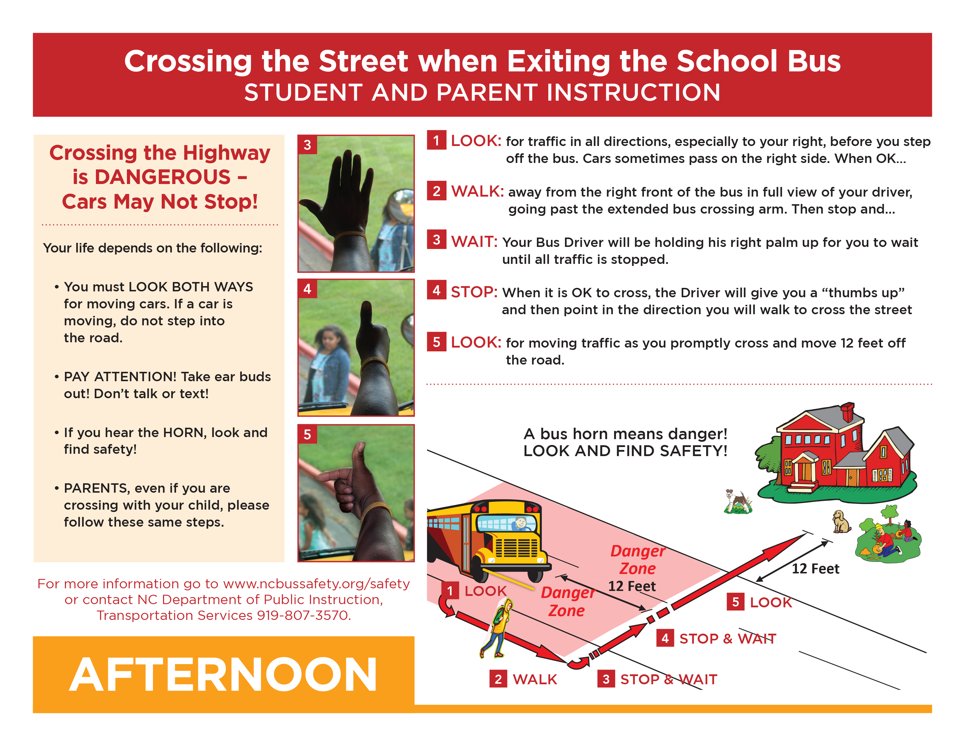 School Bus Crossing Procedures Overview