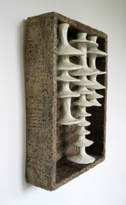 OBrien, Image 5, Extending, 17x12x5, Porcelain, wood, and wax