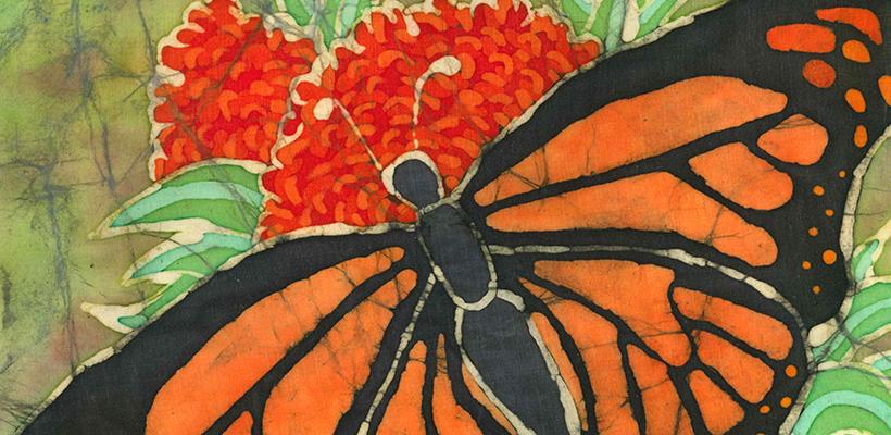 Hot Wax: The Art of Batik and Pysanky Artwork by Lara Cummings and Dena DeKryger