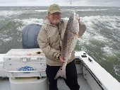 Nice Red Drum caught near Okracoke Island, North Carolina